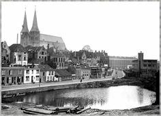 1933 Richting emmaplein, de gedempte gracht /oude haven