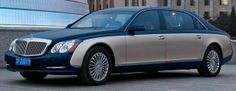 Maybach 62S with Armour from Rijck