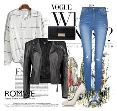 """""""romwe <3"""" by selma-imsirovic-01 ❤ liked on Polyvore featuring Boohoo and Dsquared2"""
