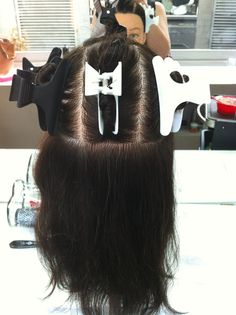 Sectioning for half head of foils