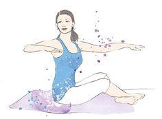 Pilates gegen Verspannungen Verspannungen im Nacken oder in den Schultern? Diese tollen Pilates-Übungen von Trainerin Michaela Bimbi-Dresp helfen Ihnen. Los geht´s.