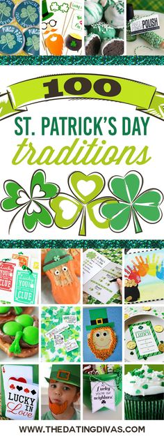 100 Top St. Patrick's Day Ideas - perfect for party planning!