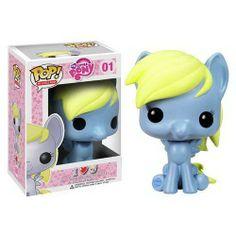 Figura Pop de la marca Funko del personaje de Derphy, de la serie infantil para niñas Mi Pequeño Pony. Las figuritas de los caracteres protagonistas de My Little Pony encantarán a todas las niñas por su similitud, acabado y colores. Dimensiones: 9.5 cm de altura aprox. Edad mínima: a partir de 5 años.