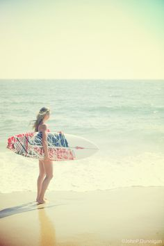 Photo abbey with surfboard  by John Dunnigan