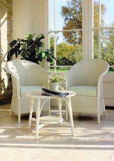 Belvoir Chair Set Lloyd Loom Original Design Classic