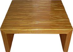 One Kings Lane - Memorial Day Vintage Blowout - Gilt Bamboo Coffee Table