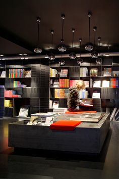 Mendo bookstore in the Nine Streets area of Amsterdam  Very cool place with gorgeous coffee table books you will not find elsewhere.
