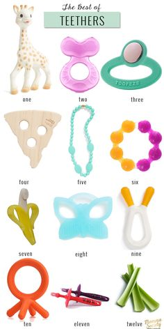 The Best of Baby Teethers | Momma Society -The Community of Modern Moms | www.mommasociety.com | Join our party on instagram @mommasociety