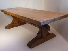 MASSIVE 17TH CENTURY STYLE REFECTORY TABLE