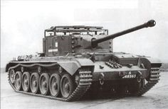 A30 Avenger - british tank destroyer.