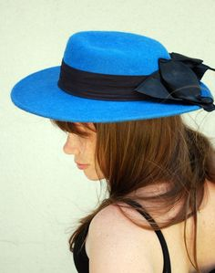 Vintage Lady Who Dines Hat by lemonsandcoal on Etsy, $28.00