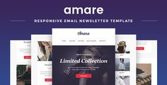 Amare - Responsive Email & Newsletter Template