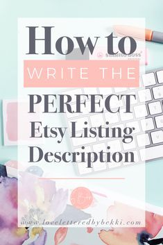 The 12 things you need to include in your Etsy Listing Descriptions Etsy shop listing store tips seo promotion marketing ideas Craft Business, Business Tips, Online Business, Risky Business, Business Essentials, Business Planning, Starting An Etsy Business, Etsy Seo, Affiliate Marketing