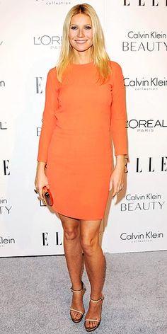 Gwyneth in Calvin Klein...