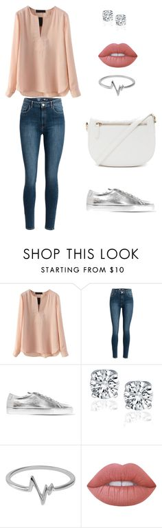 """""""Untitled #33"""" by herivoryskeleton on Polyvore featuring Common Projects, Jewel Exclusive, Lime Crime and Forever 21"""
