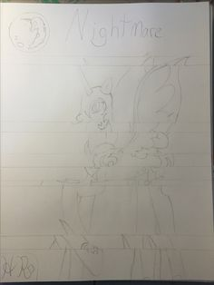 WIP by HumanRadio <3. Decided to do a picture based on a new album inspired by the villains of MLP, so here's Nightmare Moon to start off with