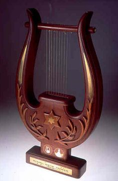 The lyre, or kinnor, like the harp, is frequently mentioned in the book of Psalms, as being a feature of the Levitical orchestra which performs in the Inner Courtyard of the Holy Temple.