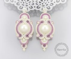 unique rose soutache by Kavrila
