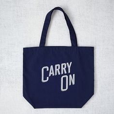 Market Tote Bag - Carry On #WestElm