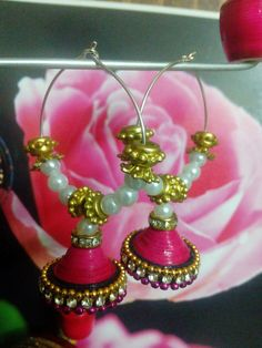 Paper quilling jewellery , by pretty collections....