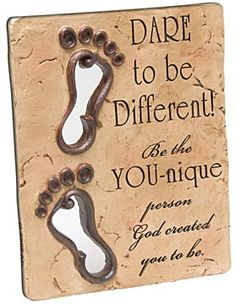 Be all He created you to be!!!  You are special!!!