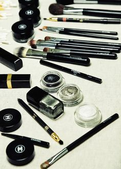 #chanel beauty products x chanel brushes :: #makeup