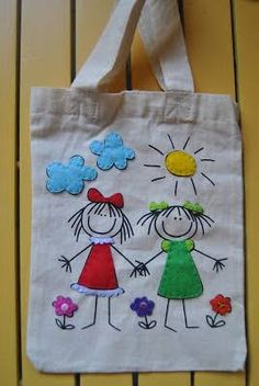 I tell you in felt- Ich sage es Ihnen in Filz I tell you in felt, - Diy Tote Bag, Tote Bags Handmade, Fabric Crafts, Sewing Crafts, Sewing Projects, Patchwork Bags, Quilted Bag, Patchwork Quilting, Fabric Bags
