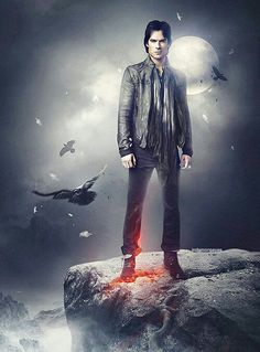 Damon Salvatore played by Ian Somerhalder in The Vampire Diaries - just the way I'd like to be if I'd become a vampire. Vampire Diaries Stefan, Serie The Vampire Diaries, Ian Somerhalder Vampire Diaries, Vampire Diaries Wallpaper, Vampire Diaries Seasons, Vampire Diaries The Originals, Damon Salvatore, Vampire Pictures, Dark Pictures