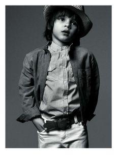 Whiz Kid Fashiontography : Vogue Enfants, Haute Couture, Paris, Black and White, Kid Fashion