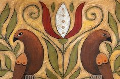 Folk Art at american-artists.com