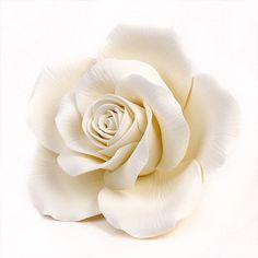 Queen Elizabeth Sugarflower Rose cake decorations | CaljavaOnline.com