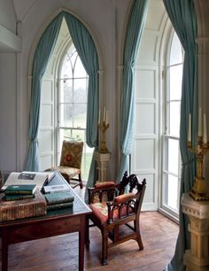Luggala Days Goes Inside The Guiness Familiys Irish Mansion Arched WindowsArched Window TreatmentsCountry