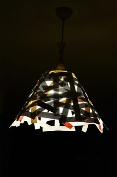 Paper Lampshades by Tímea Andorka, via Behance