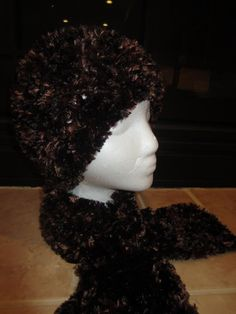 Sale 30 OFF Lustrous Chocolate Brown Fur Chic by MonkeyCatBoutique, $35.00
