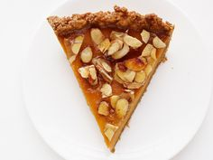 Pumpkin pie need no longer be a once-a-year indulgence with this upscale version that adds amaretto and almond praline into the mix. The nutty flavors add a layer of sophistication that you wouldn't dare cover up with whipped cream.