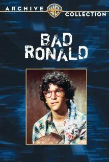 Bad Ronald (TV Movie 1974). Scott Jacoby, a nerdy high school youth, accidently kills a neighbor's young daughter. Panicking mother, Kim Hunter, fears the police will not believe that it was an accident. She moves her son into a bathroom that she turned into a secret hiding place. After her death, a new family moves in. In the mean time, Ronald has gotten lost in a fantasy world created in his own head from being hidden away for so long.