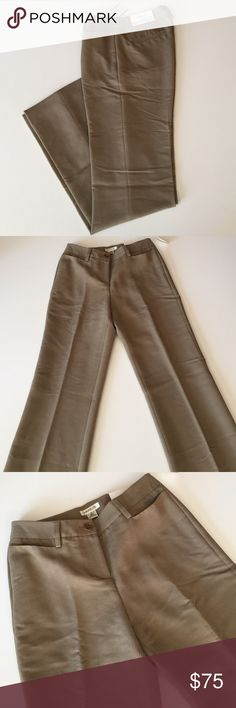 """NWOT Harold's Dress Slacks New. Never worn but have been washed. Light brown.  2 pockets in front, 2 in back. The fit is called Sarah - sits below the waist. Awesome soft material. 62% rayon, 38% polyester. Waist 26"""". Inseam 33"""". 9"""" rise. Not from a smoke-free house. Harold's Pants Trousers"""