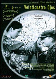 Veinticuatro ojos (1954) Xapón. Dir.: Keisuke Kinoshita. Drama. Histórico. II Guerra Mundial - DVD CINE 2132-V
