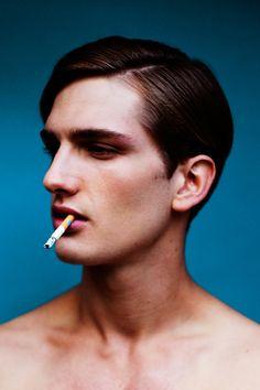 "modelhommes: Christian Von Pfefer by Jeff Hahn - Client Magazine ""Model of the Week #2"