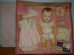 Tiny Tears...I loved this little doll!