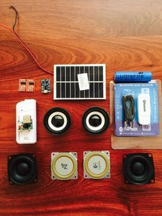 The Speakers that have it all!Today, I will be going through how to make your very own mini AMPLFY portable Bluetooth Speaker from Scratch! Diy Bluetooth Speaker, Diy Speakers, Bluetooth Gadgets, Diy Electronics, Electronics Projects, Speaker Design, Boombox, Mini, Usb Flash Drive