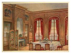 Comedor Luis XIV -1907