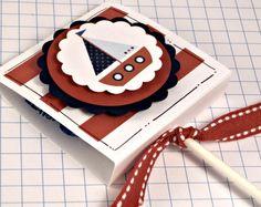He encontrado este interesante anuncio de Etsy en https://www.etsy.com/es/listing/194713915/nautical-lollipop-favors-set-of-10-red