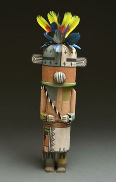 Coyote Kachina Doll (Hopi)