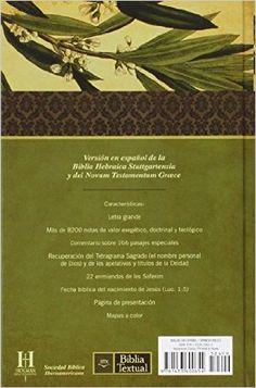 Biblia Textual (Spanish Edition): B&H Espanol Editorial Staff: 9781433600654: Amazon.com: Books