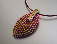Pendant Sunny Dots | Flickr - Photo Sharing!  ST-Art-Clay