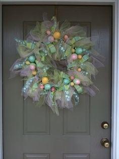 Easter wreath by beachbumjulie