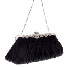 Amazon.com: Angel Wings New Women Lady Girl Fashion Pleated Line Evening Bag Clutch Bag Chain Bag Mothers Day Gifts (black): Beauty $3.91
