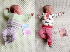 Milestone™ Baby Cards http://www.shesowsseeds.com/2014/08/18/dear-eleanor-2-months/