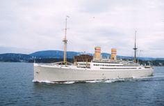 stavangerfjord | ... Stavangerfjord som var på vei ut fra Oslo. Gammelt dias som jeg har